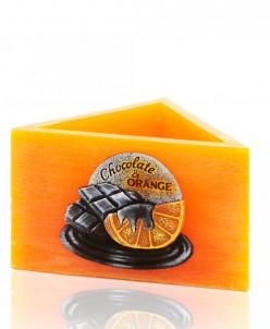 свеча Апельсин в шоколаде Лампион Треугольник  160X95