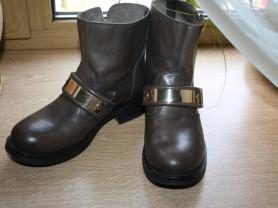 Ботинки fabbrica morichetti(италия) 37 р-р  3600