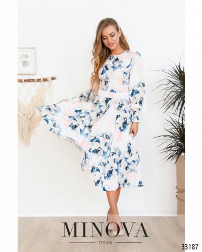 Платье №3119-Пудра