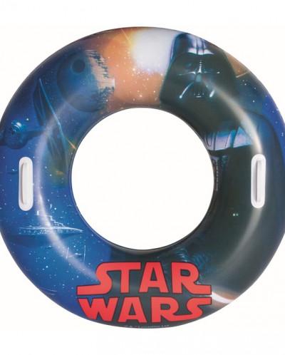 """Круг для плавания 91 см с ручками """"Звёздные войны"""""""