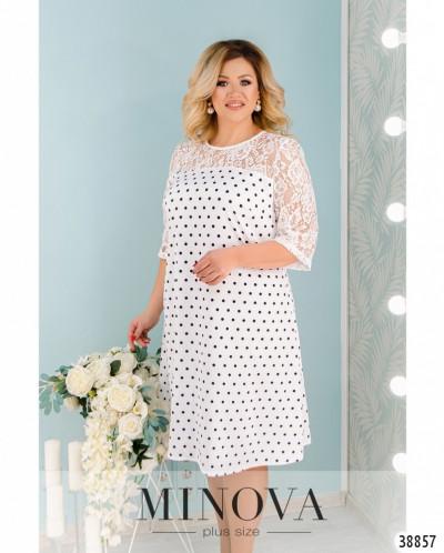 Платье №40083-1-Белый
