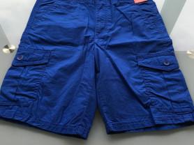 Новые шорты на мальчика синего цвета р.7-8