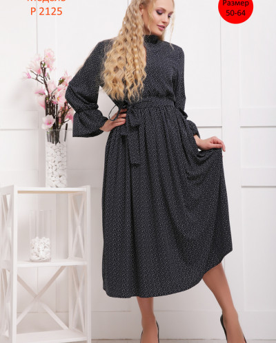 Платье на резинке - Р 2125 Р 2125