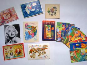 СССР открытки,набор открыток Хармс,Чудеса