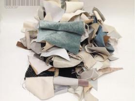 Обрезки мебельной ткани для творчества разные