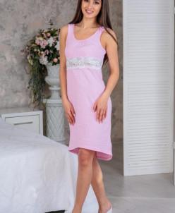 Сорочка Цветущий сад2, М-42Н Розовые