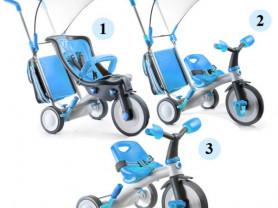 Велосипед 3 в 1 италтрайк эволюшн