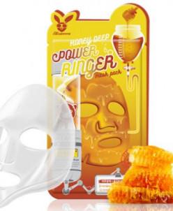 [Elizavecca] Тканевая маска д/лица Медовая Honey DEEP POWER