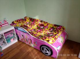 """Кровать-машина """"Фея"""" для девочки"""