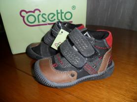 Новые демисезонные ботинки Orsetto унисекс