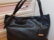 Новая большая кожаная сумка Gaude Италия А4