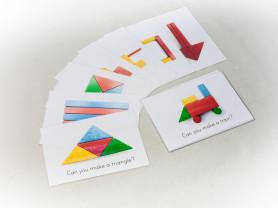 Развивающие карточки А4 (новые) Английский Язык
