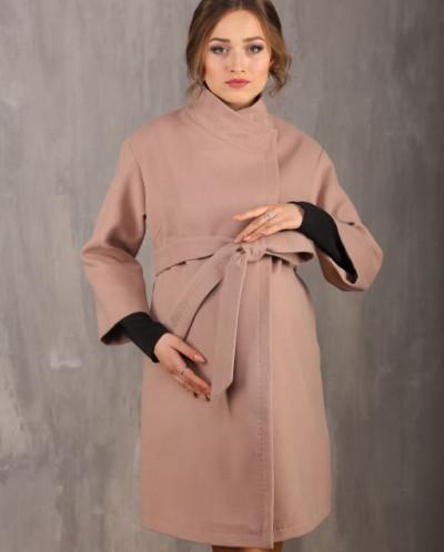 Пальто для беременных 18610-449  (кофе)