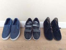 Ботиночки, слипоны, кроссовки
