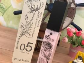 Увлажняющий лосьон с розовой водой Citrus Prince