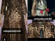 Плащ новый Dolce&Gabbana Италия размер 46 М леопардовый коричневый