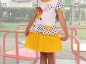 Платье детское Джоли (желтое)