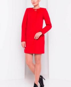 Пальто Фортуна 4812 (красный) Modus