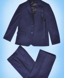 Комплект 3в1 д/м пиджак , брюки , жилет СИНИЙ