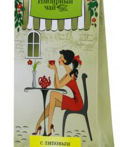 Имбирный чай «Липовый цвет»