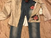 Новый комплект мода гранде 6 -116 л 4 вещи