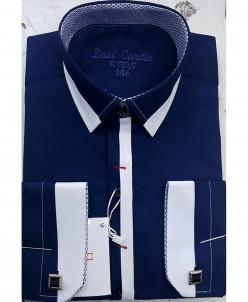 Рубашка для мальчика, Dast Cardin, арт.1102, темно-синий