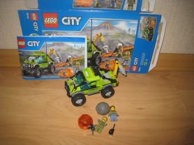 LEGO City Грузовик Исследователей Вулканов (60121)