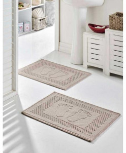 Коврик для ванной комнаты 1 шт в/уп 50*70 см- Ayakizi (vizon