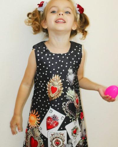 Модное платье от известного бренда