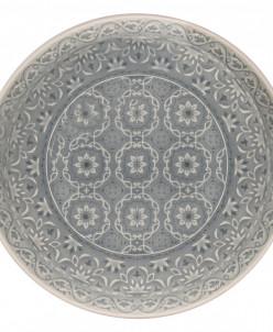 Тарелка обеденная (серая) Ambiente без инд.упаковки