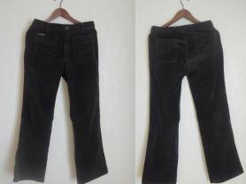 Французские брюки цвета темного шоколада Lee