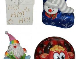Коробочки и банки для новогодних подарков