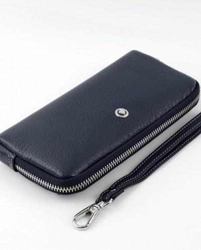 Женский кожаный кошелек на молнии Sergio Valentini СВ 8057-0