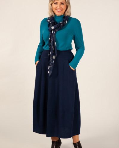Юбка Стейси темно-синий