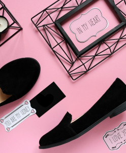 Замшевые стильные туфли - слиперы. New Collection 18