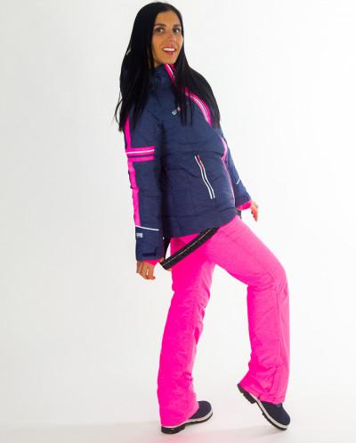 Женская куртка Snow Headquarter, В-8612, т-синий