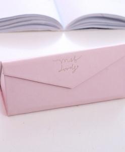 Футляр конверт для очков Pink