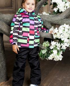 Костюм демисезонный для девочки (куртка +брюки)