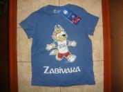 """Новая,хлопковая футболка """"Забивака"""".Размер 122."""