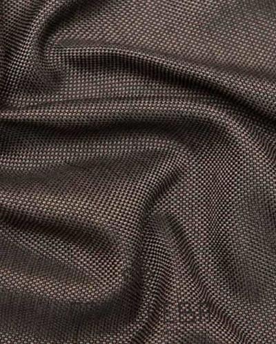 Лана коричневый рогожка штора арт.15019