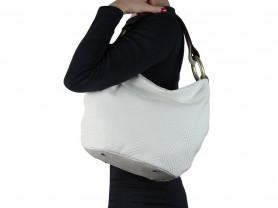 Новая белая кожаная сумка Gaude Италия