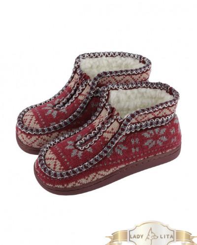 Ботинки домашние теплые детские
