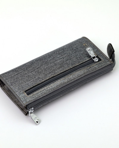 Женский кожаный кошелек на молнии Sergio Valentini СВ 8067-0
