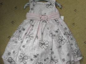 Платье розовое (США) 2-3 года