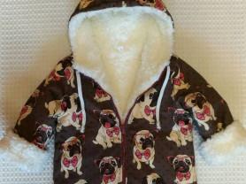 Курточка с меховым подкладом