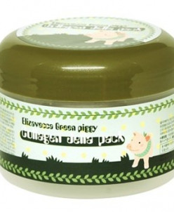Коллагеновая маска с лифтинг-эффектом [ELIZAVECCA] Green Pig