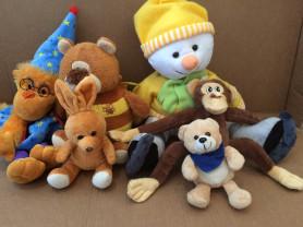 Продам набор мягких игрушек