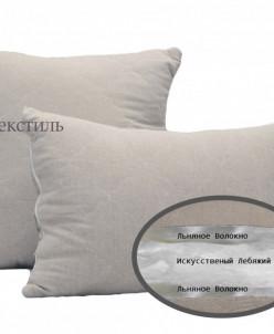 Лен подушка 50х70