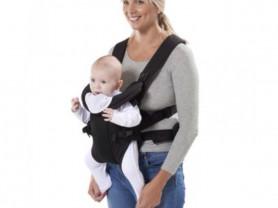 Рюкзак переноска Mothercare цвет черный
