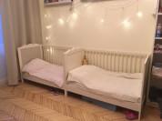Кроватки для близнецов Идея Хенсвик
